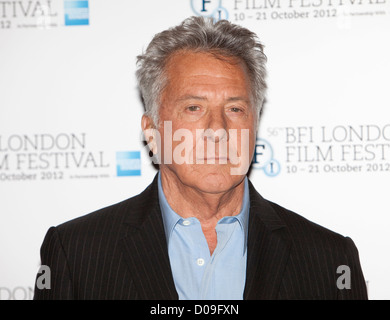 dustin hoffman at a Photocall at the Empire theatre FOR THE BFI London film festival, Leicester Square for the film - Stock Photo