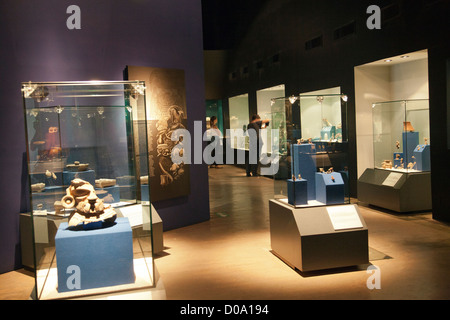 Museo De Sitio - Teotihuacan Museum in Mexico - Stock Photo
