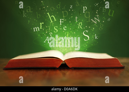 Magical words - Stock Photo