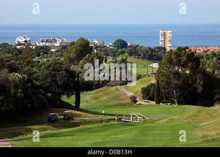 Marbella Club Golf Malaga Costa del Sol Andalusia Spain - Stock Photo