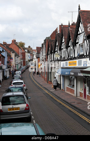 High Street, Droitwich - Stock Photo