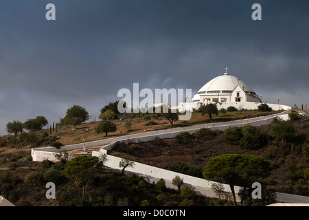 Loule Portugal, church of Nossa Senhora da Piedade - Stock Photo