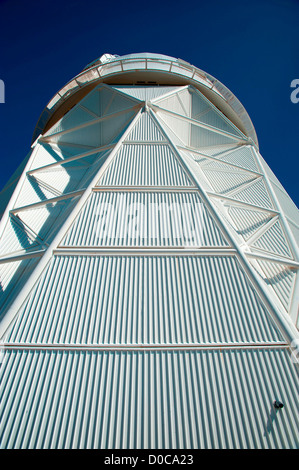 The Mayall 4-meter telescope dome is seen at Kitt Peak National Observatory - Stock Photo