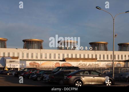 Pulkovo-1 Airport. Saint Petersburg, Russia. - Stock Photo