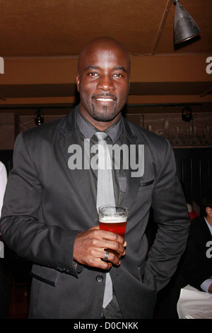 Mike Colter Opening night after party for the Off-Broadway production of 'Wings' held at HB Burger New York City, - Stock Photo