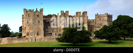 Summertime, Raby Castle, Staindrop, Darlington, Durham County, England, Britain, UK - Stock Photo