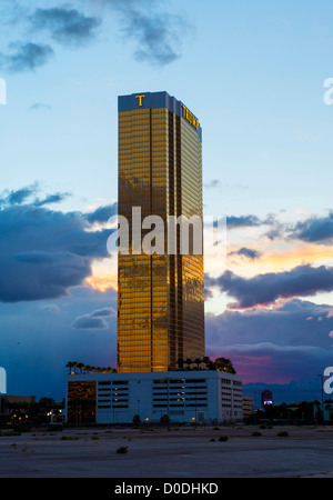 Trump hotel and casino  in Las Vegas. - Stock Photo