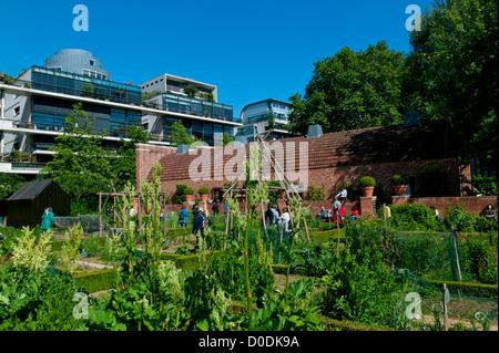 The Park Of Bercy, Paris, France - Stock Photo
