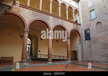 Museo Civico Medievale the Medieval museum central Bologna city Emilia-Romagna region northern Italy Europe - Stock Photo