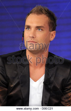 Calum Best appears on Italian TV show 'Quelli che il calcio' Milan, Italy - 31.10.10   Germany - Stock Photo