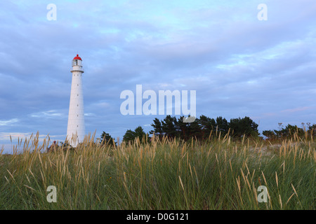 Lighthouse on Tahkuna peninsula, Hiiumaa, Estonia - Stock Photo
