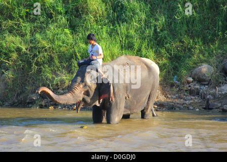 Mae Taeng River Adventures - Stock Photo