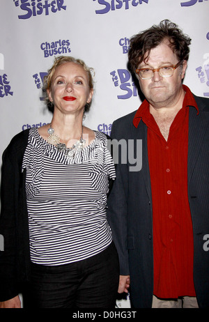 J. Smith-Cameron and Kenneth Lonergan The opening night of the Off-Broadway production of 'Charles Busch's The Divine - Stock Photo