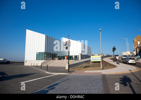 A view toward the New Turner Gallery in Margate. - Stock Photo