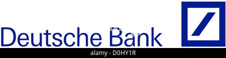 Logo of the Deutsche Bank based in Frankfurt am Main. - Stock Photo
