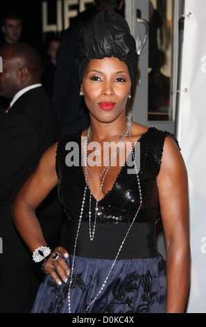 June Ambrose The 2010 'Keep A Child Alive' Black Ball held at the Hammerstein Ballroom - Arrivals New York City, - Stock Photo