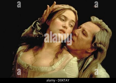 QUILLS  2000 Fox Searchlight film with Kate Winslett and Geoffrey Rush - Stock Photo
