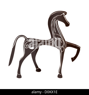 An illustration of Trojan Horse - Stock Photo