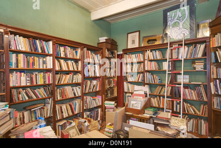 Bookstore Librairie de Pera Talya Nomidis, Galata Istanbul Turkey - Stock Photo