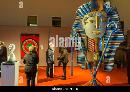 Paris, France, Amateur Art Show, 'Art en Capital', 'Salon des Artistes Français', in the Grand Palais, Sculpture - Stock Photo