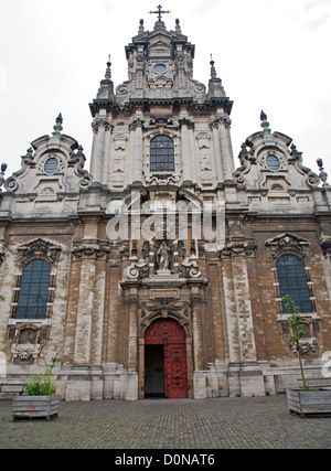 BRUSSELS - JUNE 21: Saint John the Baptist church from 19. cent. on June 21, 2012 in Brussels. - Stock Photo