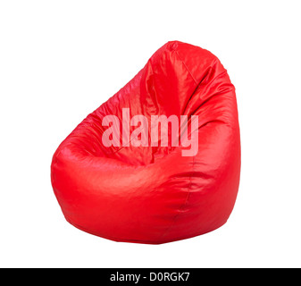Nice and soft beanbag for your living room - Stock Photo