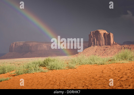 End of the Rainbow - Stock Photo