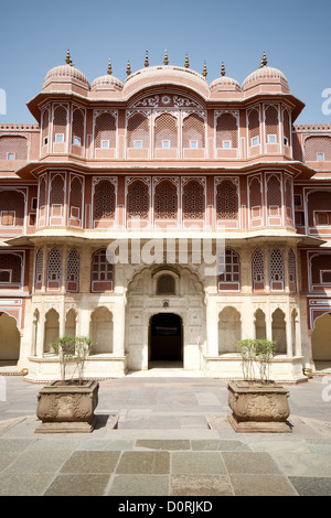 Chandra Mahal - Cipty Planase in Jaipur - Stock Photo