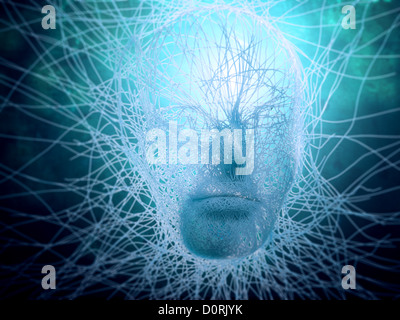 Artificial intelligence concept - Stock Photo
