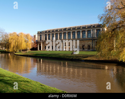 The Wren Library, Trinity College, Cambridge University, UK - Stock Photo