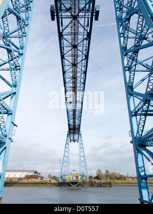 Middlesbrough Transporter Bridge - Stock Photo