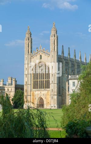 Kings college chapel, Cambridge, England - Stock Photo
