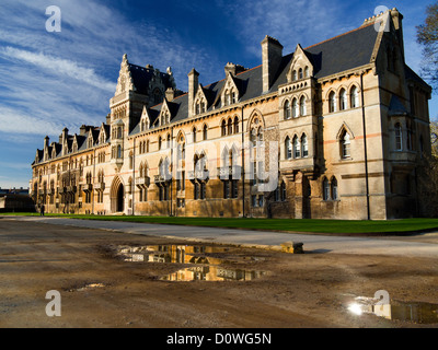 The entrance to Christ Church College, Oxford after the November 2012 floods 5 - Stock Photo