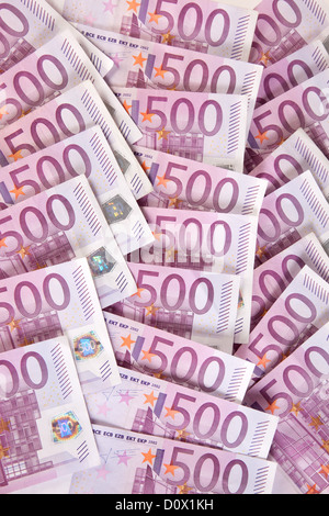 Berlin, Germany, 500-euro notes - Stock Photo