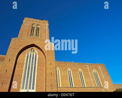 The Cathedral Church of the Holy Spirit (Guildford Cathedral) designed by Sir Edward Maufe - Stock Photo
