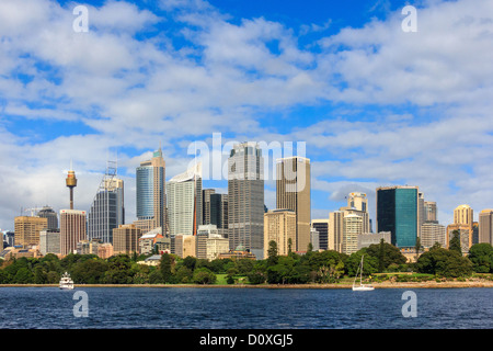 Australia, NSW, New South Wales, Sydney, skyline, tourism, city, buildings - Stock Photo