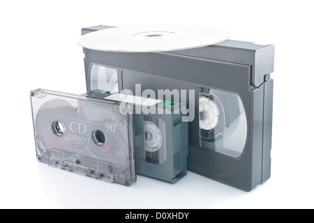Compact videocassette - Stock Photo
