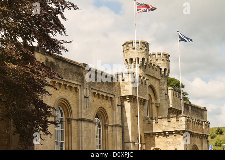 UK Oxford Old County Hall - Stock Photo
