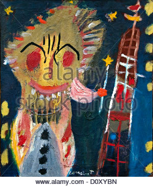 Untitled 1948 Constant  Netherlands Dutch painter - Stock Photo