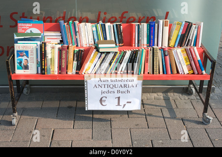 Secondhand books for sale - Stock Photo