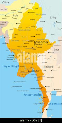 Myanmar - Stock Photo
