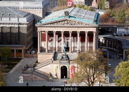 Alte Nationalgalerie Old National Gallery Berlin Germany - Stock Photo