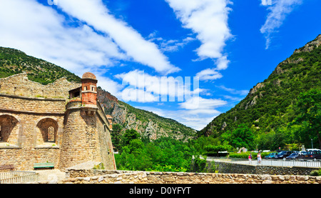 Villefranche de Conflent - Fort Liberia - Stock Photo