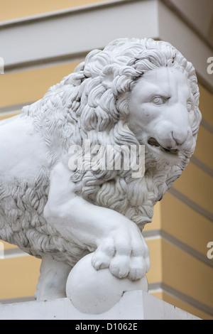 Medici Lion at The Russian Museum, St Petersburg, Russia - Stock Photo