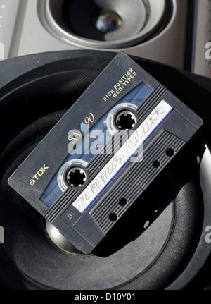 Audio Cassette Tape of The Beatles Album 'Revolver'. - Stock Photo