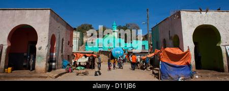 Market In Harar Old Town, Ethiopia - Stock Photo