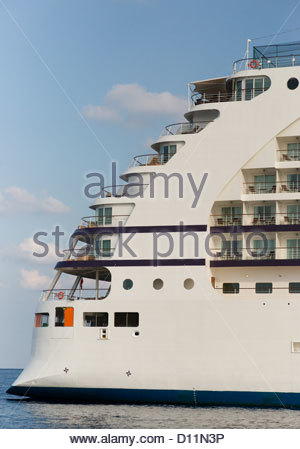large ship cruise vacation travel transport relax - Stock Photo