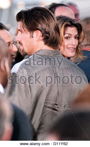 cindy crawford cynthia supermodel supermodels randy gerber - Stock Photo