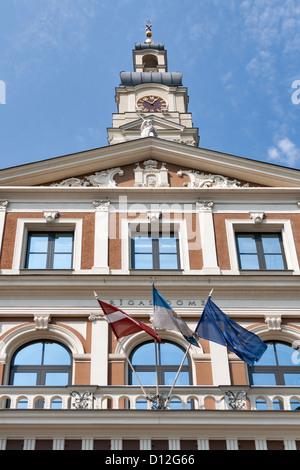 Riga City Council (Rigas Dome). Latvia. - Stock Photo