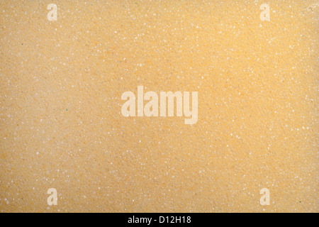 closeup of yellow kitcheb spunge for cleaning purposes - Stock Photo